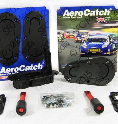 aerocatch 120 series plus flush hood pins fiebruz motorsports. Black Bedroom Furniture Sets. Home Design Ideas