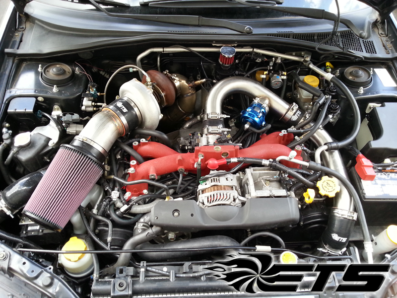 Fiebruz Subaru Rotated Turbo Kit 2